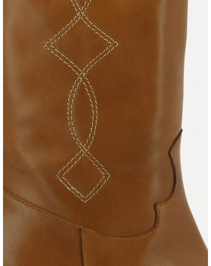 Wonders-Outlet-cowboy style mid-calf ankle boot