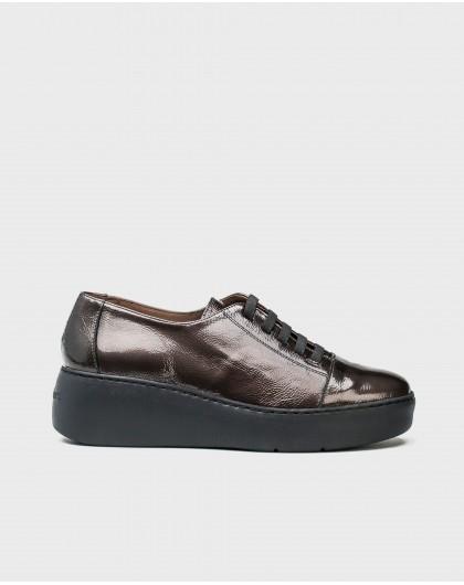Wonders-Sneakers-Leather sneakers with elastic fastener