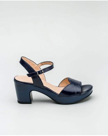 Wonders-Outlet-Mid-heel leather shoe