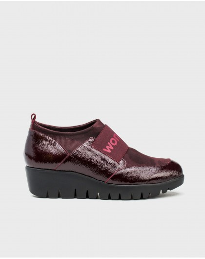 Wonders-Wedges-Lycra sneaker with band
