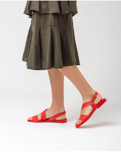 Wonders-Outlet-flat sandal with two straps