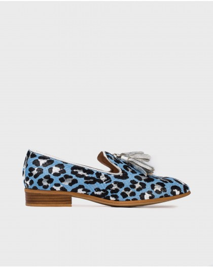 Wonders-Flat Shoes-Moccasin with tassel detail