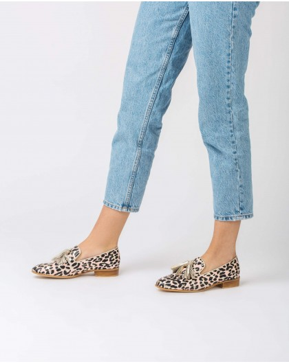 Wonders-Outlet-Moccasin with tassel detail