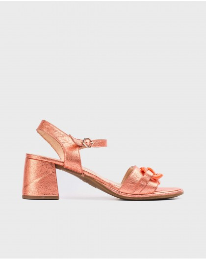 Wonders-Sandals-Leather sandal with chain