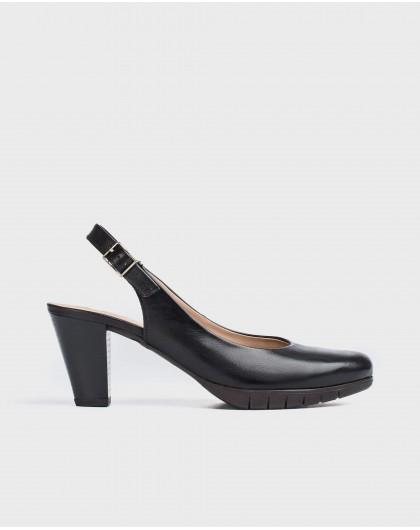 Wonders-Heels-Leather court shoe