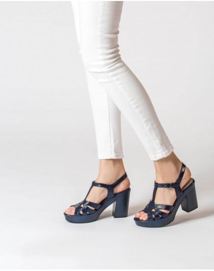 Wonders-Heels-Strappy platform sandal