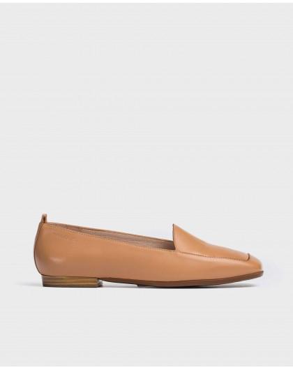 Wonders-Flat Shoes-Flat leather shoe