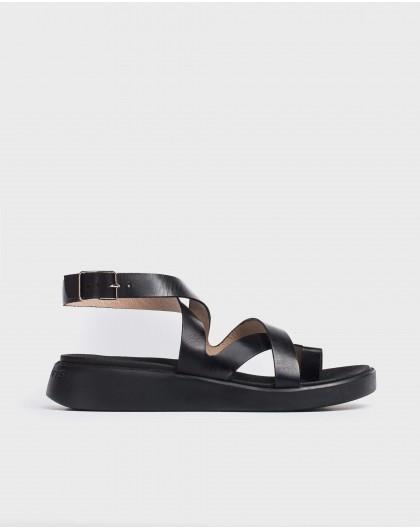 Wonders-Sandals-Leather toe post sandal