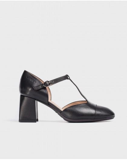 Wonders-Heels-T-Bar leather shoe