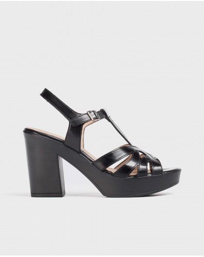 Wonders-Sandals-Strappy platform sandal
