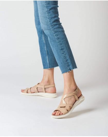 Wonders-Sandals-Sandal with zigzag strap