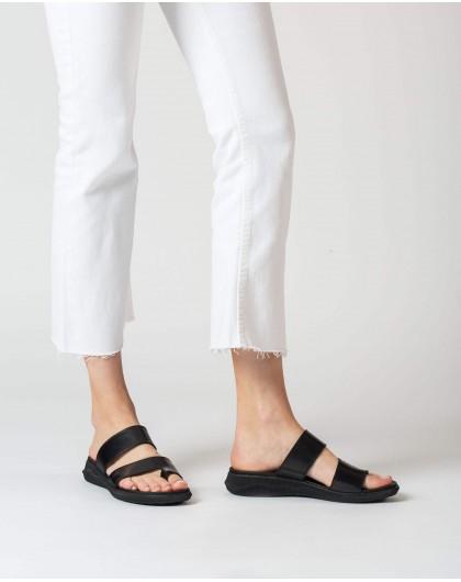 Wonders-Sandals-Flat toe post sandal
