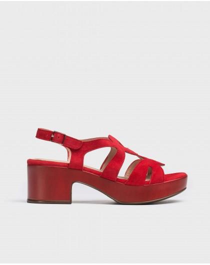 Wonders-Wedges-Cicular-cut sandal