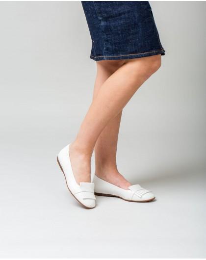 Wonders-Flat Shoes-Sandal with rhinestone straps