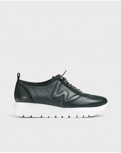 Wonders-Flat Shoes-Black B-Star Sneaker