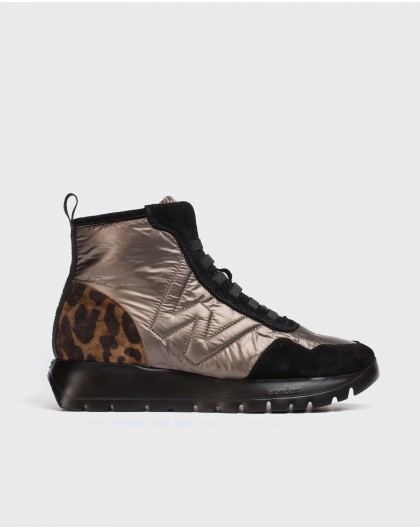 Wonders-Ankle Boots-England animal print ankle boot