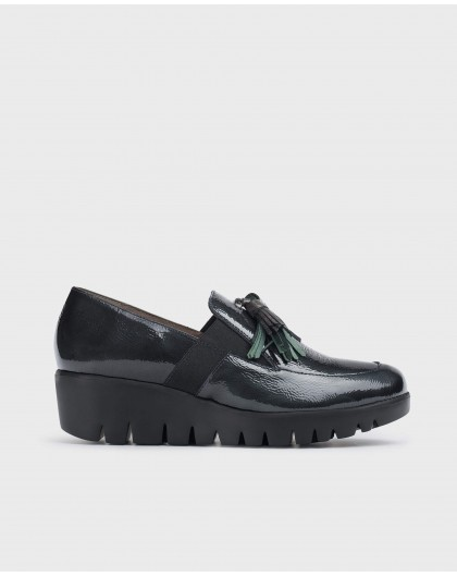 Wonders-Wedges-Green Candy Moccasin