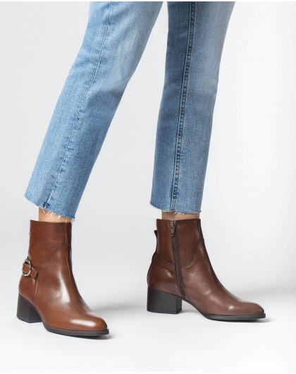 Wonders-Ankle Boots-Brown Niza Ankle Boot