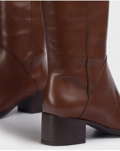 Wonders-Boots-Brown Rodeo Boot