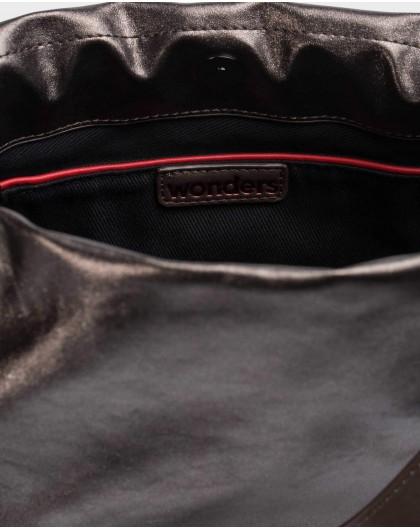 Wonders-Bags-Brown Pearl Bag