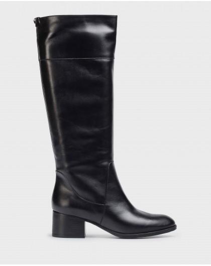 Wonders-Boots-Black Dallas Boot