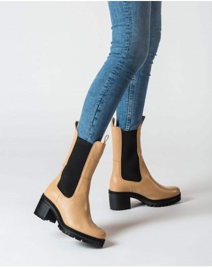 Wonders-Ankle Boots-Cream Toro Boot