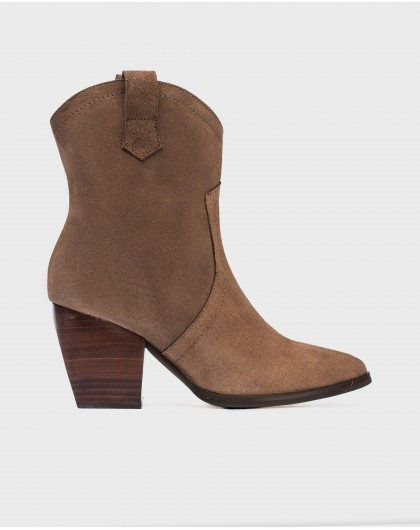 Wonders-Ankle Boots-Ankle boot cowboy