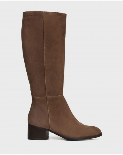 Wonders-Boots-Leather riding boots
