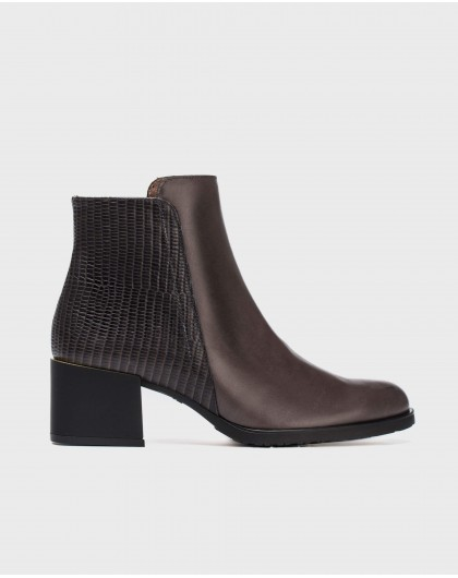 Wonders-Outlet Women-Fantasy leather ankle boot