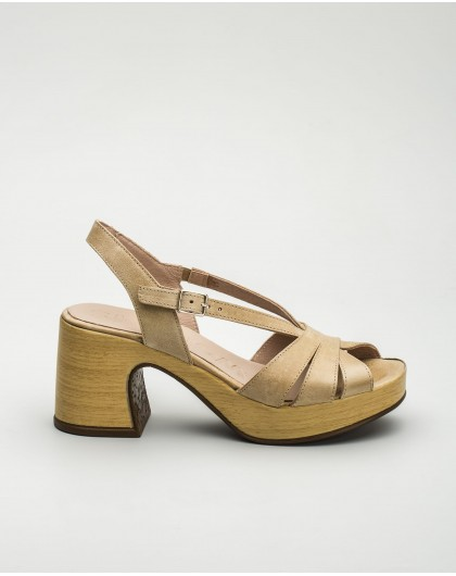 Wonders-Outlet Women-Sandal with interwoven straps