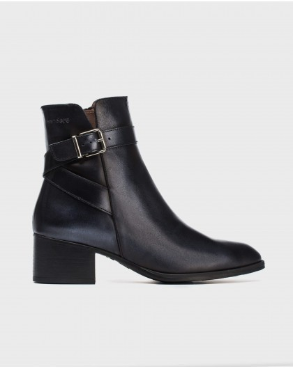 Wonders-Outlet Women-Ankle boot with criss/cross straps