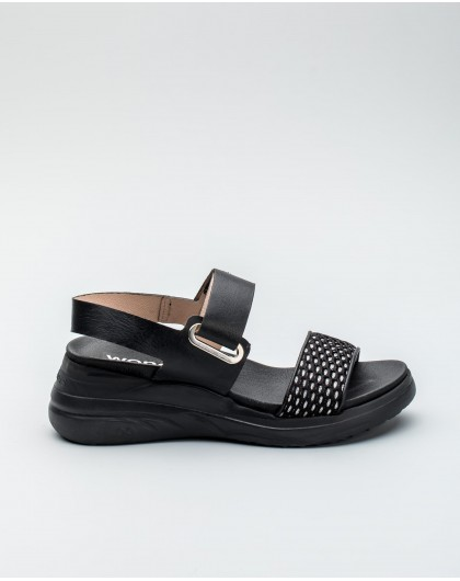 Wonders-Women-Sandal with Velcro/type fastening