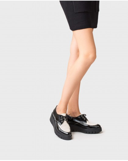 Wonders-Wedges-Shoe combined in two colours