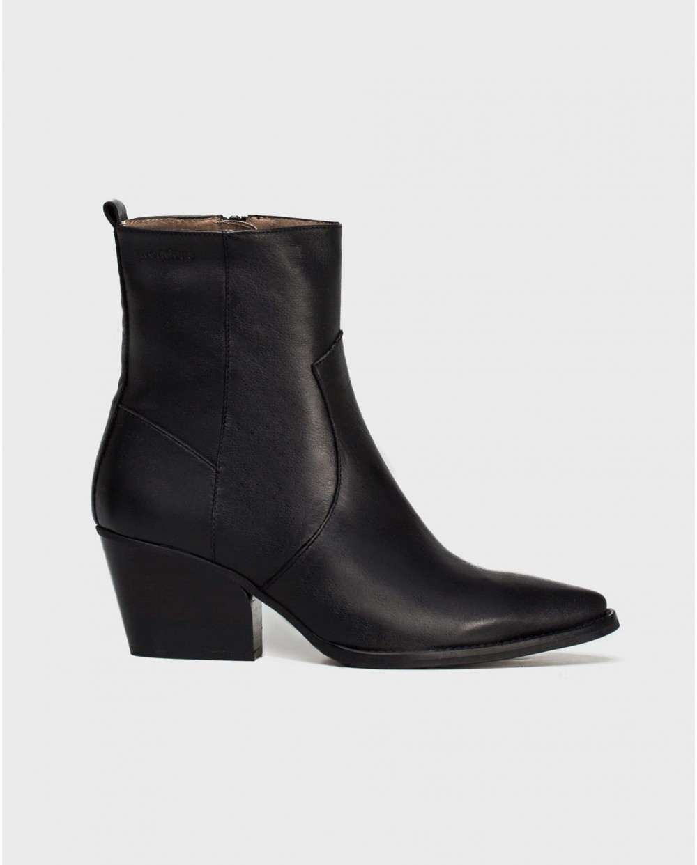 Wonders-Ankle Boots-Leather cowboy style ankle boot