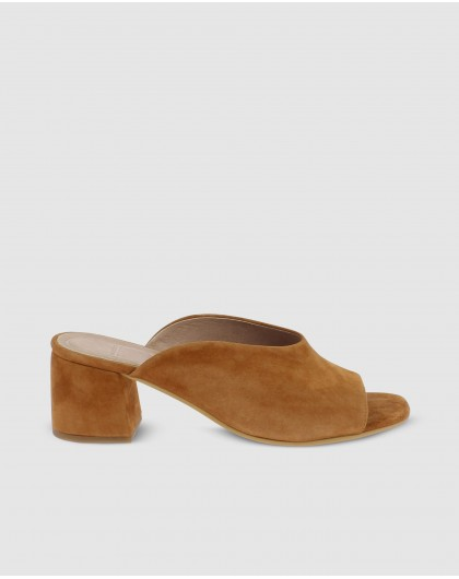 Wonders-Outlet Women-Suede leather mule