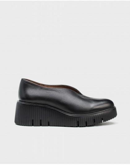 Wonders-Flat Shoes-V cut moccasin