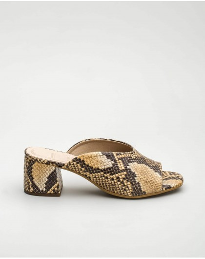 Wonders-Outlet Women-Snakeskin mule