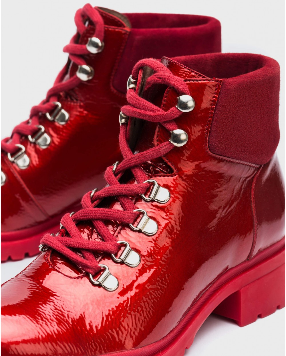 Wonders-Outlet-Leather ankle boots mix