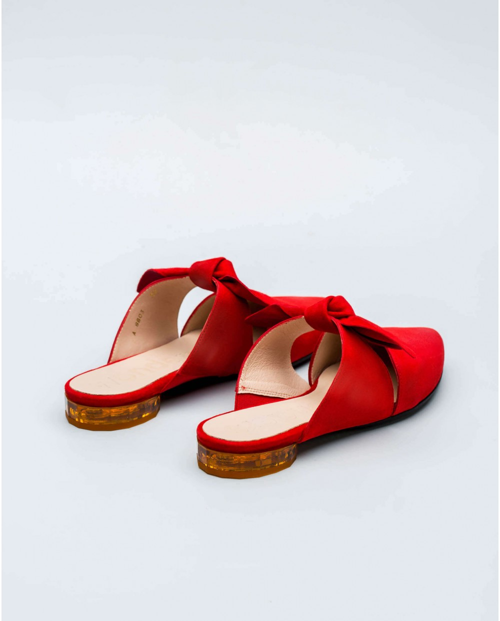 Wonders-Flat Shoes-Mid heeled ballet pump