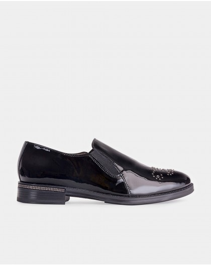 Wonders-Outlet-Moccasin with metallic detail