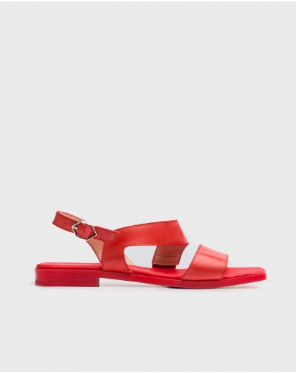 Wonders-Sandals-flat sandal with two straps