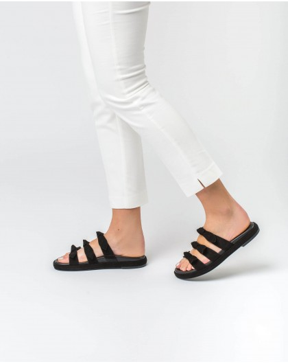 Wonders-Women-Flat sandals with bows