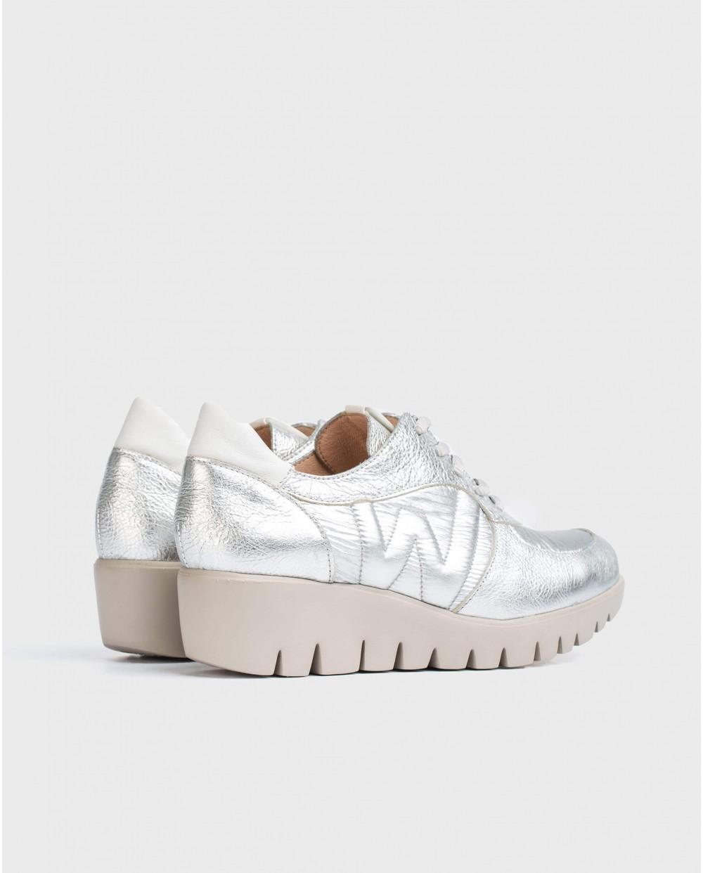 Wonders-Women-Leather platform sneaker