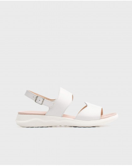 Wonders-Sandals-Leather double strap sandal