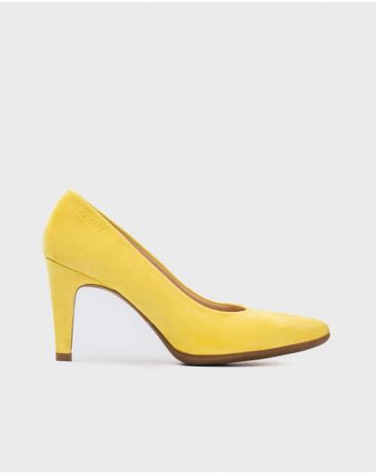 Wonders-Heels-Suede High heeled shoes
