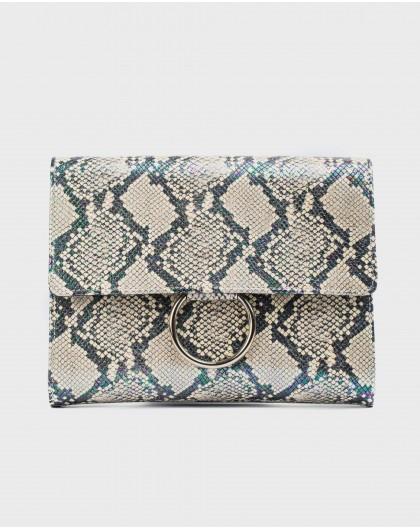 Wonders-Bags-Snake print Crossbody handbag