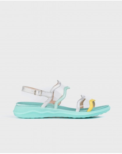 Wonders-Sandals-Sandal with vinyl detail