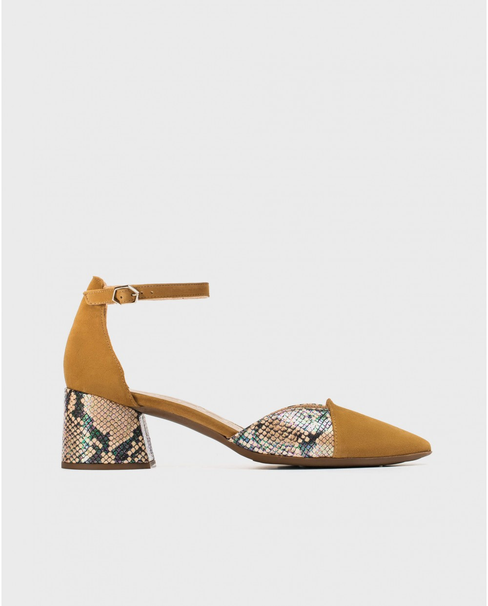 Wonders-Women-High heeled shoe with ankle strap