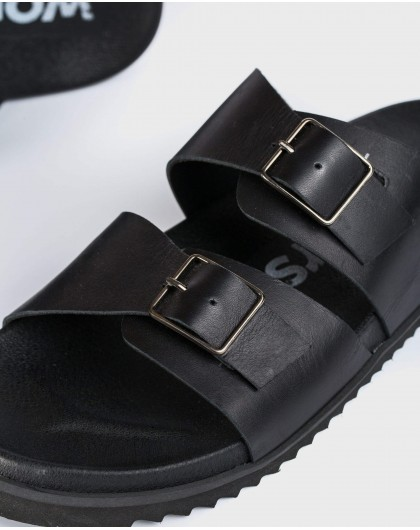 Wonders-Ready to wear-Leather sandal with buckles