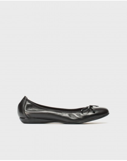 Wonders-Flat Shoes-Elastic band ballet pump